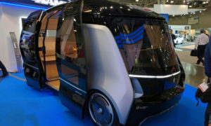 Беспилотные миниавтобусы