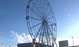 В Челябинске открылось второе по высоте колесо
