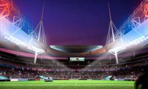 Выкатное поле на стадионе «Зенит-Арена»