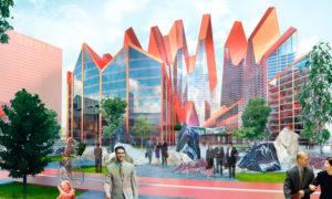 Екатеринбург-Сити строится