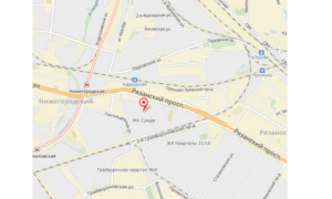 ЖК-«Sreda» на карте Москвы