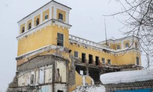 Здание макаронной фабрики на проспекте Гагарина в Ни