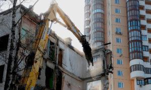 Москва без пятиэтажек