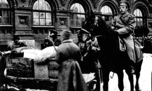 Революционный держали шаг. Московские адреса Февральской революции