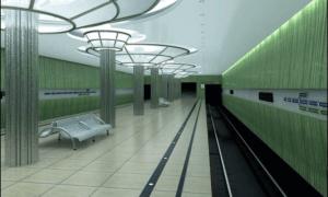 """станции метро """"Стрелка"""""""