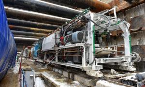 Тоннель между станциями