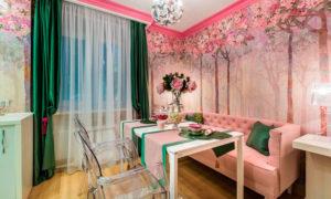 Цветение сакуры и розовые лепестки Проекты Ольги Савченко и Артема Попова