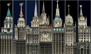 в сталинских высотках Москвы