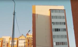 В Тюмени решили демонтировать и собрать заново накренившуюся секцию девятиэтажки