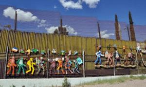 Пограничная стена с Мексикой