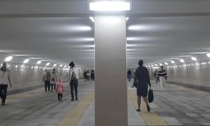 Подземный переход между станциями метро