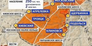 в Новой Москве