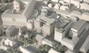 Проект нового корпуса университета