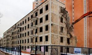Реновации пятиэтажек за счёт бюджета