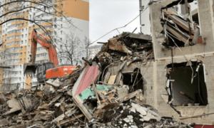 Сколько пятиэтажек снесут в Москве?