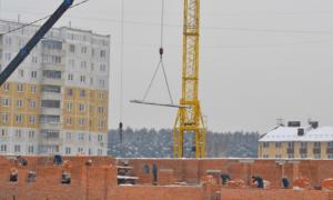 Строительство домов для переселенцев
