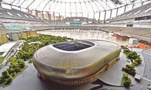 Строительство стадиона «Динамо»