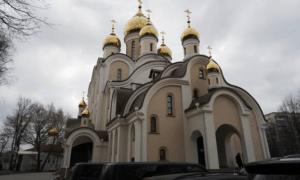 Храм блаженной Матроны Московской возводится