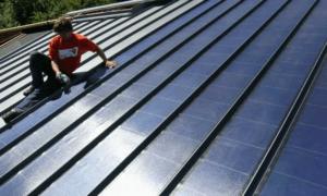 Заказы на солнечные панели для крыш