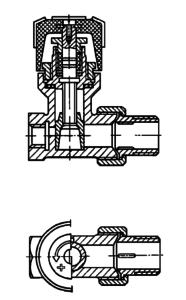 Кран регулирующий проходной с шиберным регулирующим устройством