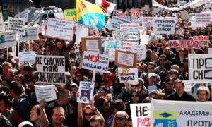 Марш и митинг против реновации пройдут сегодня