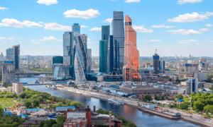 в «Москва-Сити»