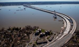 В Нью-Йорке открыли вантовый мост