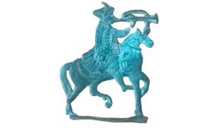 Оловянная фигурка всадника XVII—XVIII веков