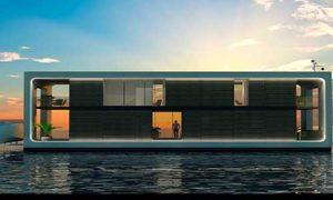 Автономный плавающий дом может стать роскошным убежищем на случай