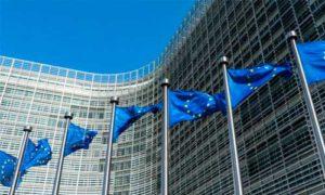 В здании «Европа» Совета ЕС в Брюсселе,