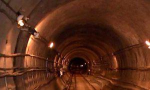при строительстве метро