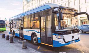 электробусов в Москве