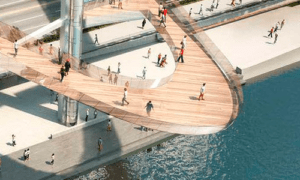 «Парящий мост» в московском парке «Зарядье» периодически будут закрывать на короткий с