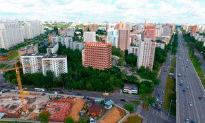 Вариант застройки в Кузьминках