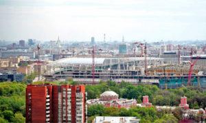 арен в Москве
