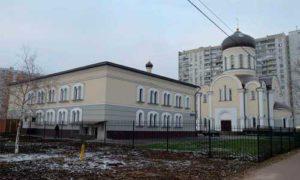 Храмовый комплекс в честь иконы Казанской (Песчанской) Божией Матери, возводится внутри жилого квартала по 9-й Парковой