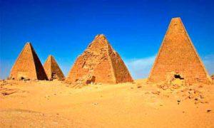 суданских пирамид
