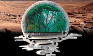 Марсианский городской дизайн