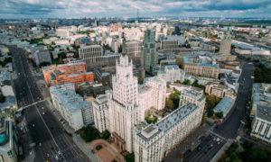районе Москвы