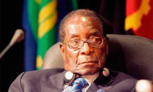 для Роберт Мугабе