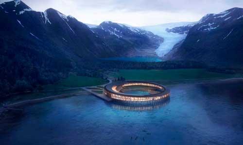 В Норвегии построят экологичный отель