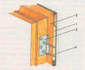коробкой и стеной