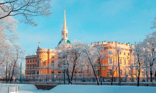 В Михайловском дворце