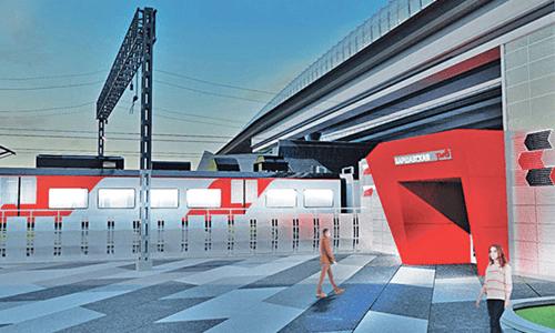 станции Варшавская