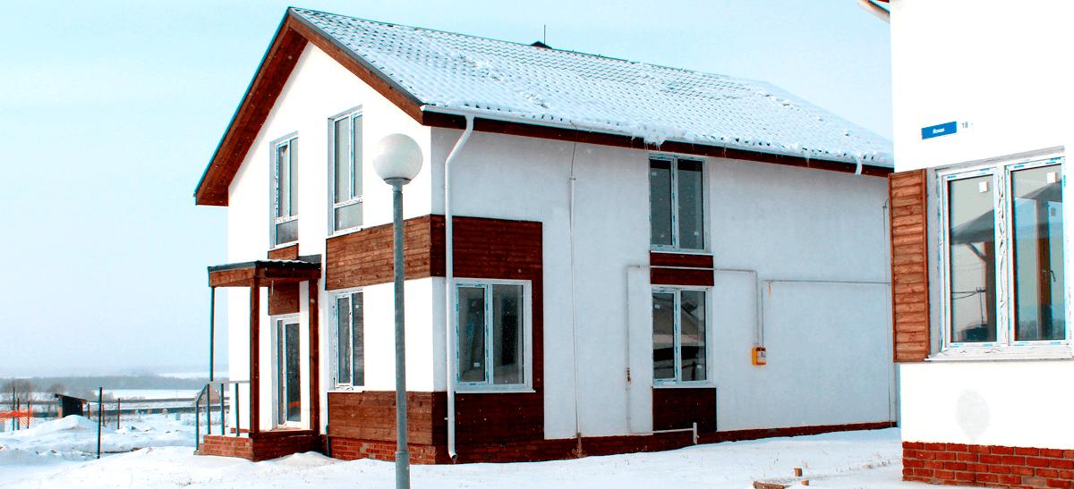 Дом 140 квадратных метров в Нижегородской области