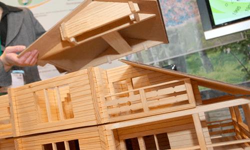 на деревянные дома