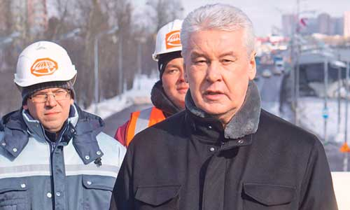 Новая эстакада через Варшавское шоссе открылась в минувшую пятницу