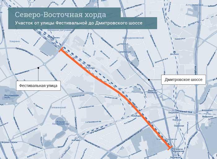 Дмитровского шоссе.