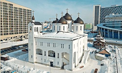 Храм Преподобного Сергия Радонежского в Москве