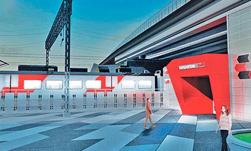 Варшавская построят в авангардистском стиле